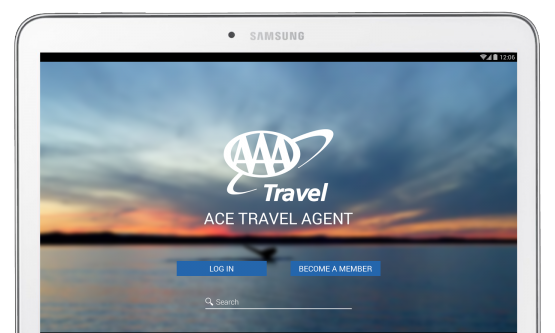 ace travel agent screenshot
