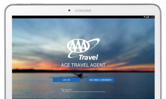 ace travel agent screenshot